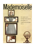 Mademoiselle Cover - April 1952