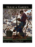 House & Garden Cover - October 1929