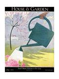 House & Garden Cover - July 1925 Giclée premium par André E. Marty