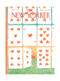 The New Yorker Cover - February 13  1971