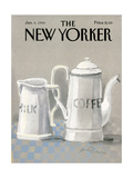 The New Yorker Cover - January 6  1986