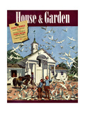 House & Garden Cover - August 1939