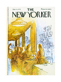 The New Yorker Cover - January 13  1975