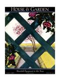 House & Garden Cover - August 1925