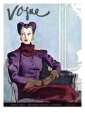Vogue Cover - January 1936