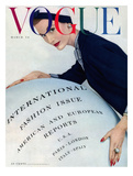Vogue Cover - March 1953