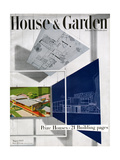 House & Garden Cover - August 1945