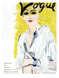 Vogue Cover - January 1934