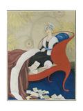 Vogue - March 1921 Giclée premium par George Wolfe Plank
