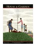 House & Garden Cover - March 1929