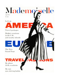 Mademoiselle Cover - April 1957