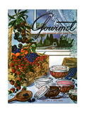 Gourmet Cover - July 1953