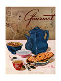 Gourmet Cover - March 1944