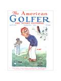 The American Golfer April 5  1924