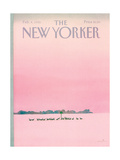 The New Yorker Cover - February 4, 1985 Giclée premium par Susan Davis