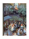 The New Yorker Cover - August 2, 1958 Giclée premium par Arthur Getz