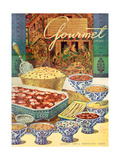Gourmet Cover - August 1949