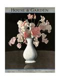 House & Garden Cover - April 1930 Giclée premium par André E. Marty