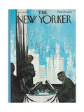 The New Yorker Cover - January 16  1960