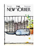 The New Yorker Cover - May 6, 1972 Giclée premium par Ronald Searle