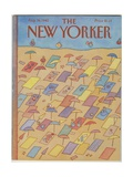 The New Yorker Cover - August 16  1982