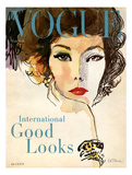 Vogue Cover - March 1958 - Good Looks