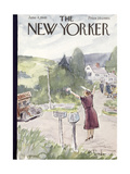 The New Yorker Cover - June 4  1949
