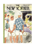 The New Yorker Cover - February 9  1957