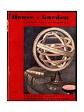 House & Garden Cover - February 1931 Giclée premium par André E. Marty