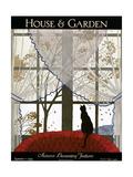 House & Garden Cover - September 1925 Giclée premium par André E. Marty