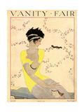 Vanity Fair Cover - July 1918 Giclée premium par Georges Lepape