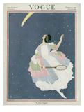 Vogue Cover - October 1921 Giclée premium par George Wolfe Plank