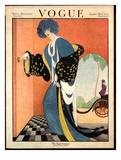 Vogue Cover - August 1919 Giclée premium par George Wolfe Plank