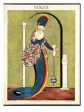 Vogue Cover - July 1913 Giclée premium par George Wolfe Plank