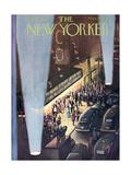 The New Yorker Cover - September 26, 1953 Giclée premium par Arthur Getz