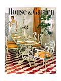 House & Garden Cover - May 1949 Giclée premium par Horst P. Horst