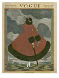 Vogue Cover - October 1916 Giclée premium par George Wolfe Plank