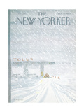 The New Yorker Cover - February 7  1977