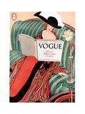 Vogue Cover - March 1912 Giclée premium par George Wolfe Plank