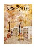 The New Yorker Cover - October 18, 1976 Giclée premium par Charles E. Martin