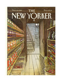 The New Yorker Cover - November 10  1980