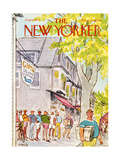 The New Yorker Cover - August 6  1973