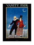 Vanity Fair Cover - May 1922 Giclée premium par George Wolfe Plank