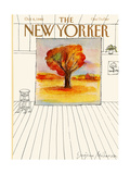 The New Yorker Cover - October 6  1980