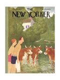 The New Yorker Cover - July 10  1943