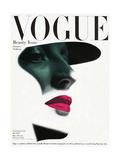 Couverture du magazine Vogue, mai 1945 Reproduction d'art par Erwin Blumenfeld