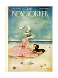 The New Yorker Cover - August 4  1945