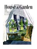 House & Garden Cover - August 1950 Giclée premium par Horst P. Horst