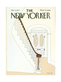 The New Yorker Cover - March 21  1977