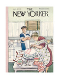 The New Yorker Cover - January 5  1946